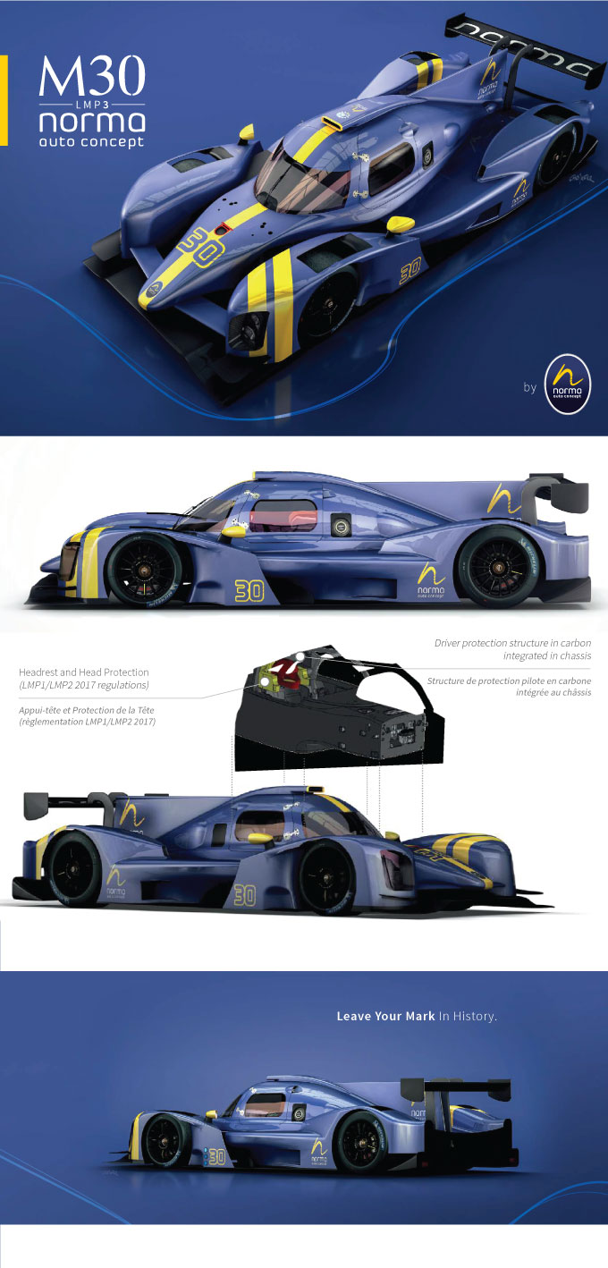 Norma M30 LMP3 Dkr Engineering Luxembourg